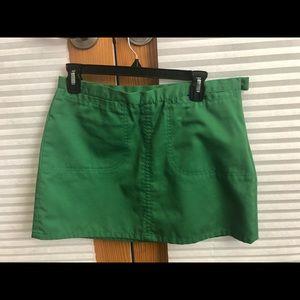 A&F Green midi skirt sz 6
